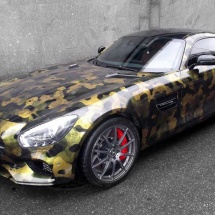 Mercedes GT camo
