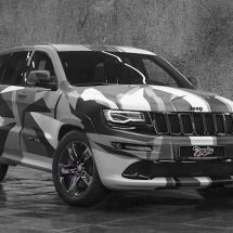 Jeep Cherokee Geometrical Camo