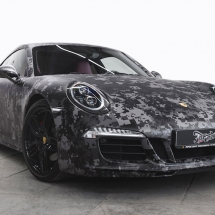 Porsche Carrera Digital Camo