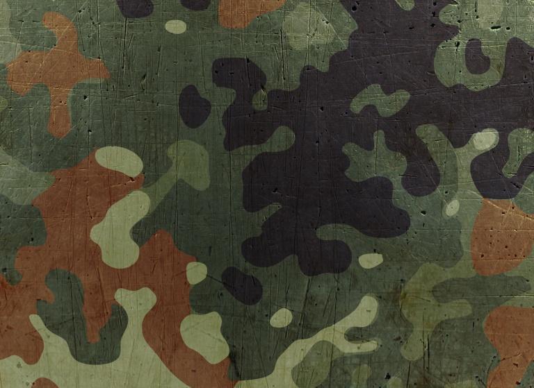 Textured Iron Scratched Flecktarn