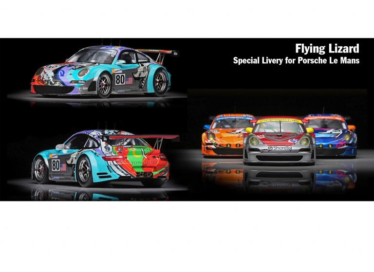 Decal Porsche Flying-Lizard