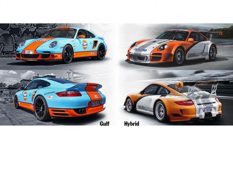 Decal Porsche Gulf
