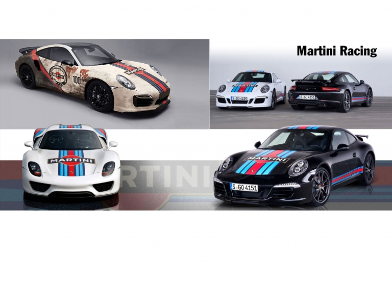 Decal Porsche Martini-Racing