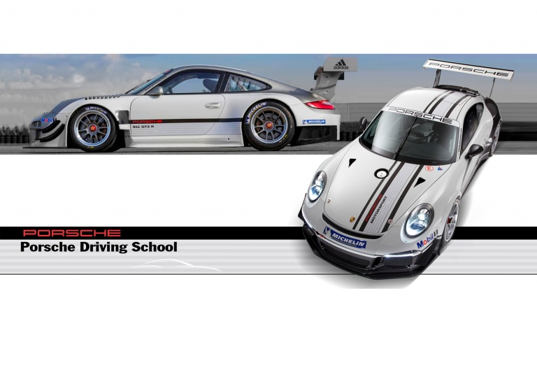 Decal Porsche-Driving-School