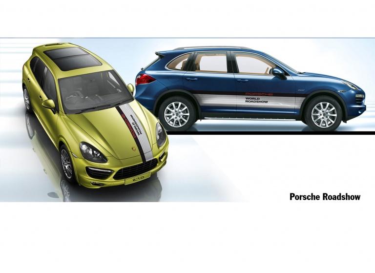 Decal Porsche-Roadshow