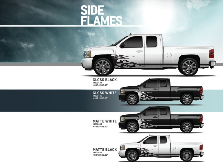 Decal Side-Flames