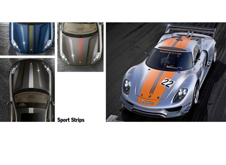 Decal Porsche Sport-Strip