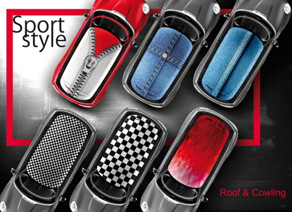 Decal Sport-Style-Roof-Cowling