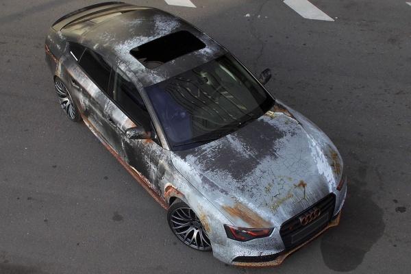 Rat Look Audi Rust