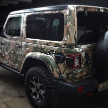 Jeep Wrangler Multicam